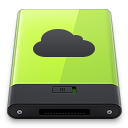 Green iDisk icon
