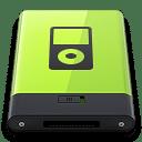 Green iPod icon
