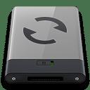 Grey Sync B icon