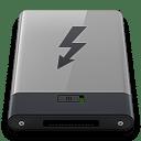 Grey Thunderbolt B icon