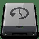 Grey Time Machine B icon