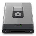 Grey iPod B icon