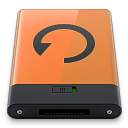 Orange Backup B icon