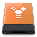 Orange Firewire W icon