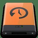 Orange Time Machine B icon