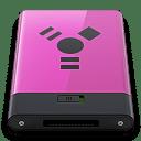 Pink Firewire B icon