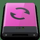 Pink Sync B icon