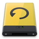Yellow Backup icon