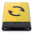 Yellow-Sync icon