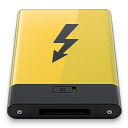 Yellow Thunderbolt icon