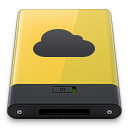 Yellow-iDisk icon