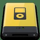 Yellow iPod icon