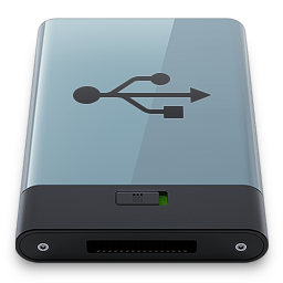 Graphite USB B icon