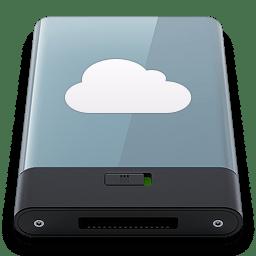 Graphite iDisk W icon