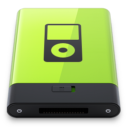 Green iPod icon