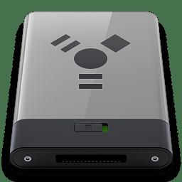 Grey Firewire B icon