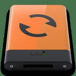 Orange Sync B icon