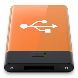 Orange USB W icon