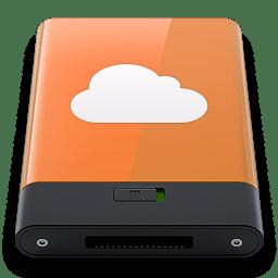 Orange iDisk W icon