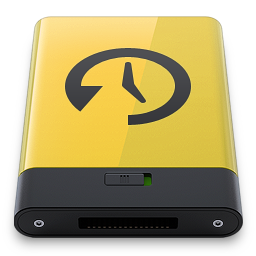 Yellow Time Machine icon
