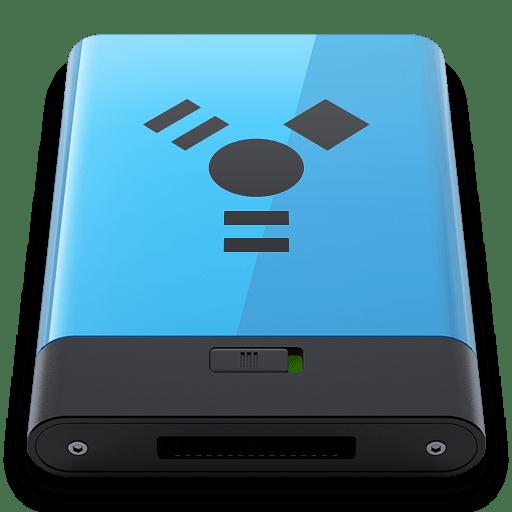 Blue-Firewire-B icon