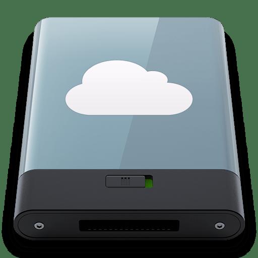 Graphite-iDisk-W icon
