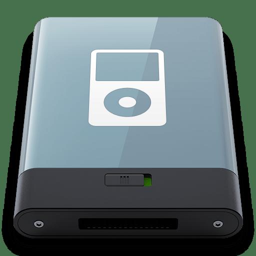 Graphite iPod W icon