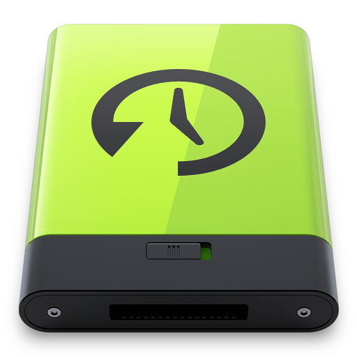 Green Time Machine icon
