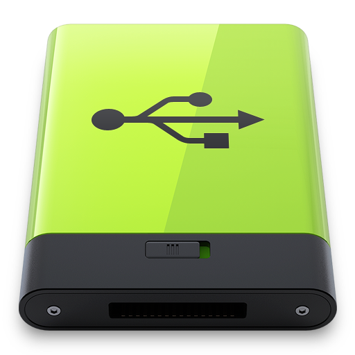 Green-USB icon