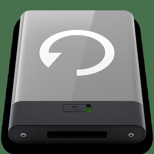 Grey-Backup-W icon