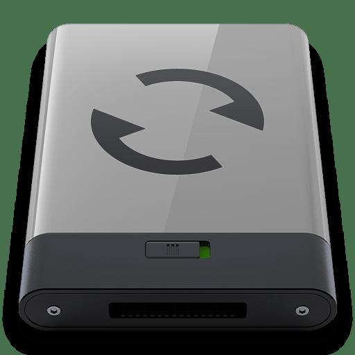 Grey-Sync-B icon