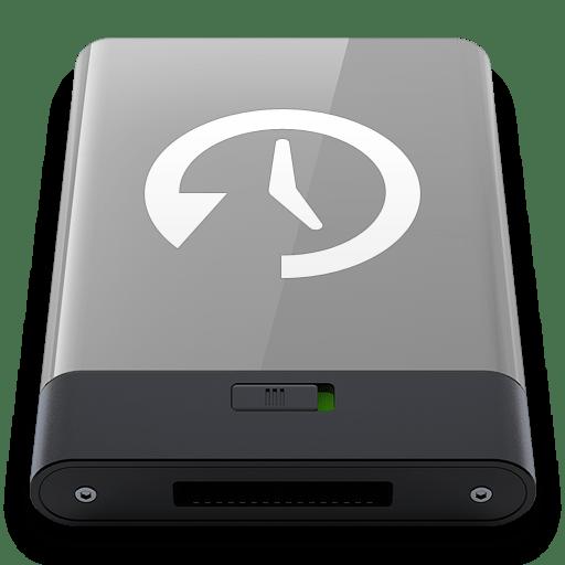 Grey-Time-Machine-W icon