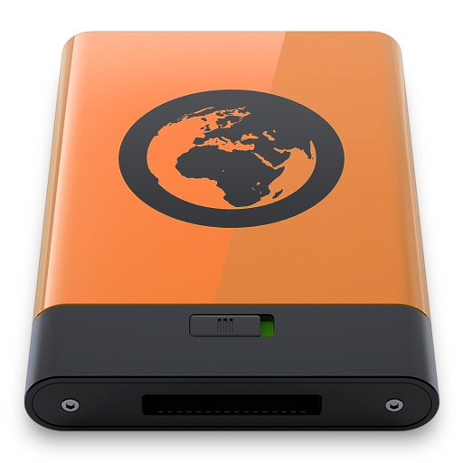 Orange-Server-B icon