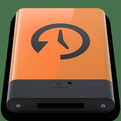 Orange-Time-Machine-B icon