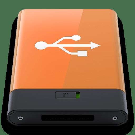 Orange-USB-W icon