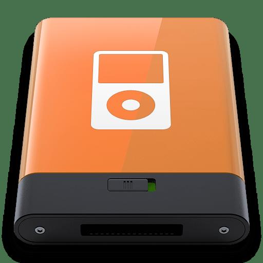 Orange iPod W icon