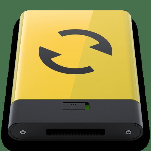 Yellow-Sync icon