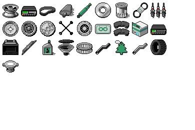 Auto Parts Icons