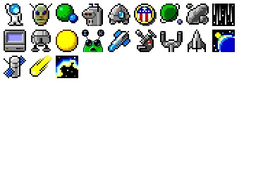 Space Bits Icons