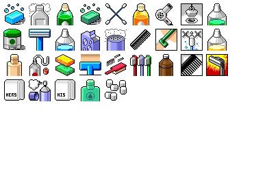 Squeaky Clean Icons