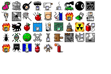 System Error Icons