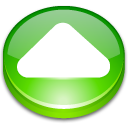Action arrow up icon