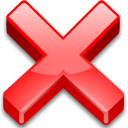 Action cancel icon