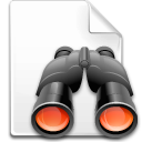 Action file find icon