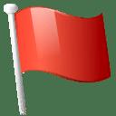 Action flag icon
