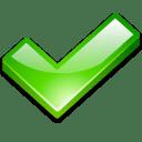Action ok icon