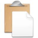 Action paste icon