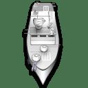 App battleship boat icon