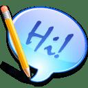 App messenger icon