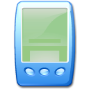 Device pda blue icon
